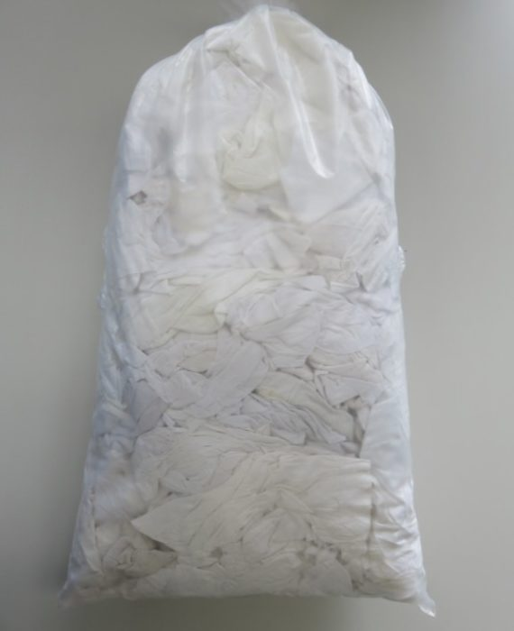 White Cotton 20Kg Bag