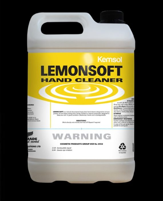 Kemsol Lemonsoft Hand Cleaner 5l
